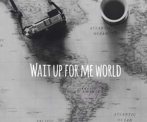 coffe, world, and get away image