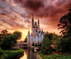 castle, beautiful, and disney image