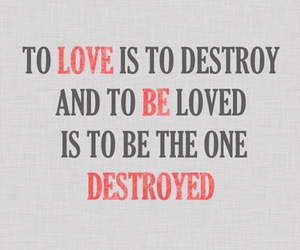 destroy and quote image