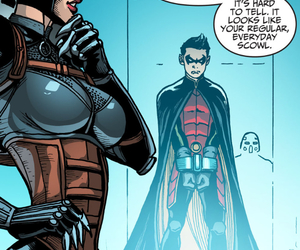 catwoman, injustice, and robin image