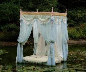 bed, enchanted, and princess image