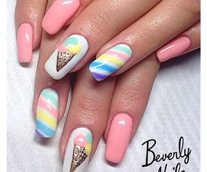 candy, sweet, and nails image