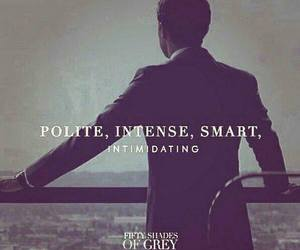 christian grey, fifty shades of grey, and smart image