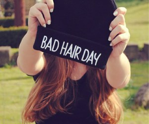 girl, hair, and bad image