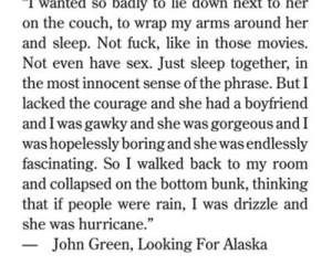 boyfriend, hurt, and looking for alaska image