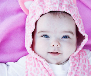 baby, blue eyes, and Halloween image
