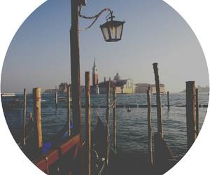 city, gondola, and italia image