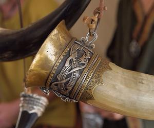 viking, medieval, and pagan image