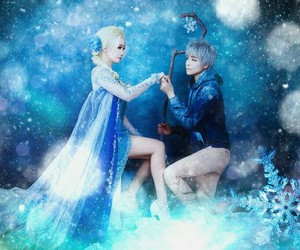 cosplay, frozen, and jack frost image