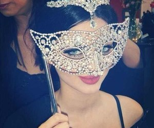 mask and beauty image