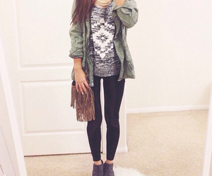 fashion, outfit, and teen fashion image