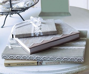 beautiful, book, and lace image