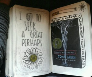 art, john green, and wreck this journal image