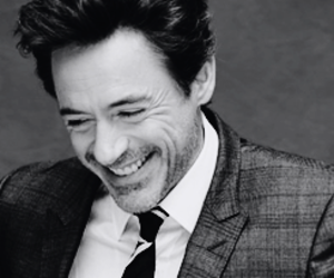 robert downey jr and smile image