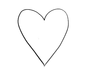 basic, draw, and heart image