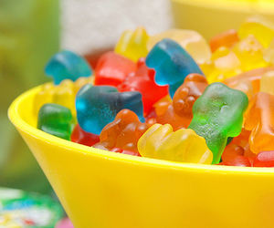 candy, sweet, and gummy bears image