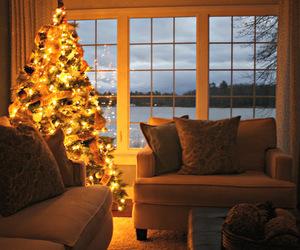 christmas, love, and home image