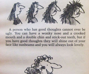 quotes, ugly, and Roald Dahl image