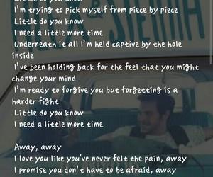 alex, Lyrics, and song image