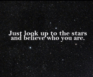 stars, phrases, and quote image