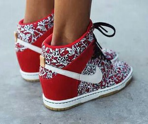 nike red white super cool image