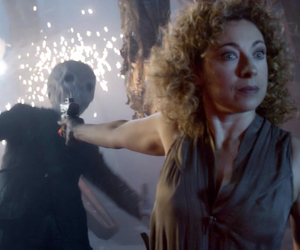 doctor who, silence, and river song image