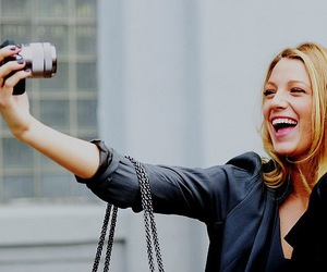 blake lively and smile image