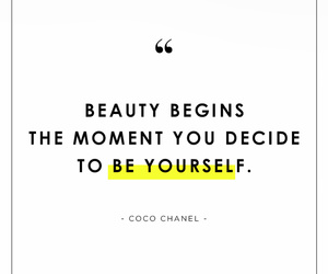 beauty, coco chanel, and quotes image