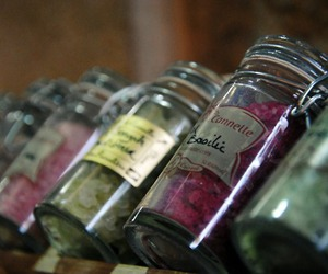 bottles, flavors, and colors image