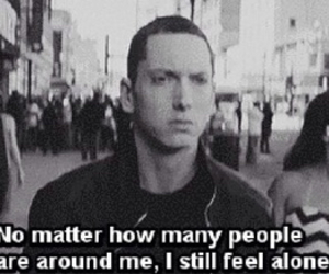 eminem, alone, and music image