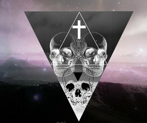 triangle, hipster, and tumblr image