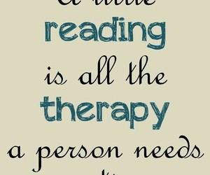 book, reading, and therapy image