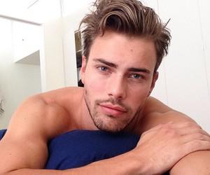 blue eyes, boy, and guys image