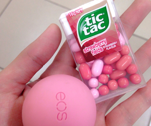eos, pink, and tictac image