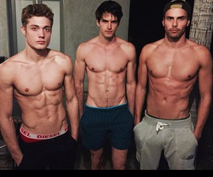 boy, gym, and Hot image