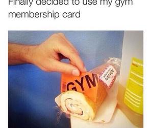 gym, funny, and lol image
