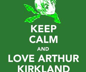 arthur, hetalia, and keep calm image