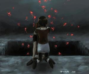 fatal frame 2, mayu amakura, and mio amakura image
