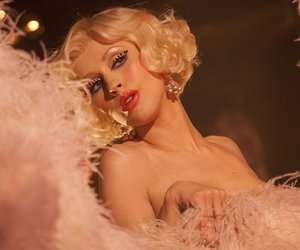 christina aguilera and burlesque image