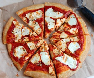 food, pizza, and foodporn image