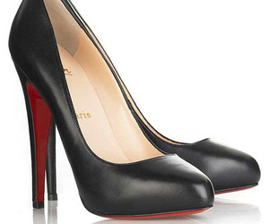 red bottom pumps and red sole pumps image