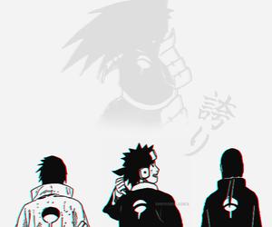 itachi, manga, and naruto image