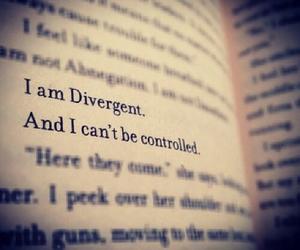 divergent, book, and tris image