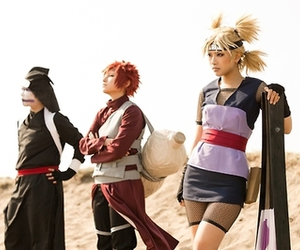 gaara, temari, and kankuro image