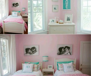beautiful, bed room, and pink girly image