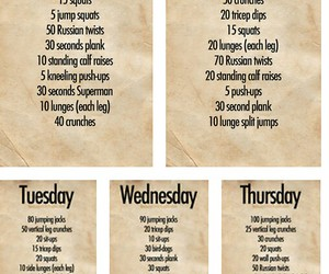workout, fitness, and daily image