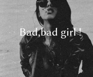 bad, bad girl, and confidence image