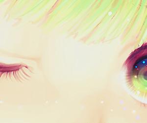anime, color, and girl image