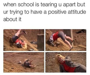 school, funny, and positive image