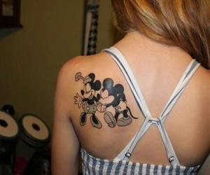 tattoo, disney, and girl image